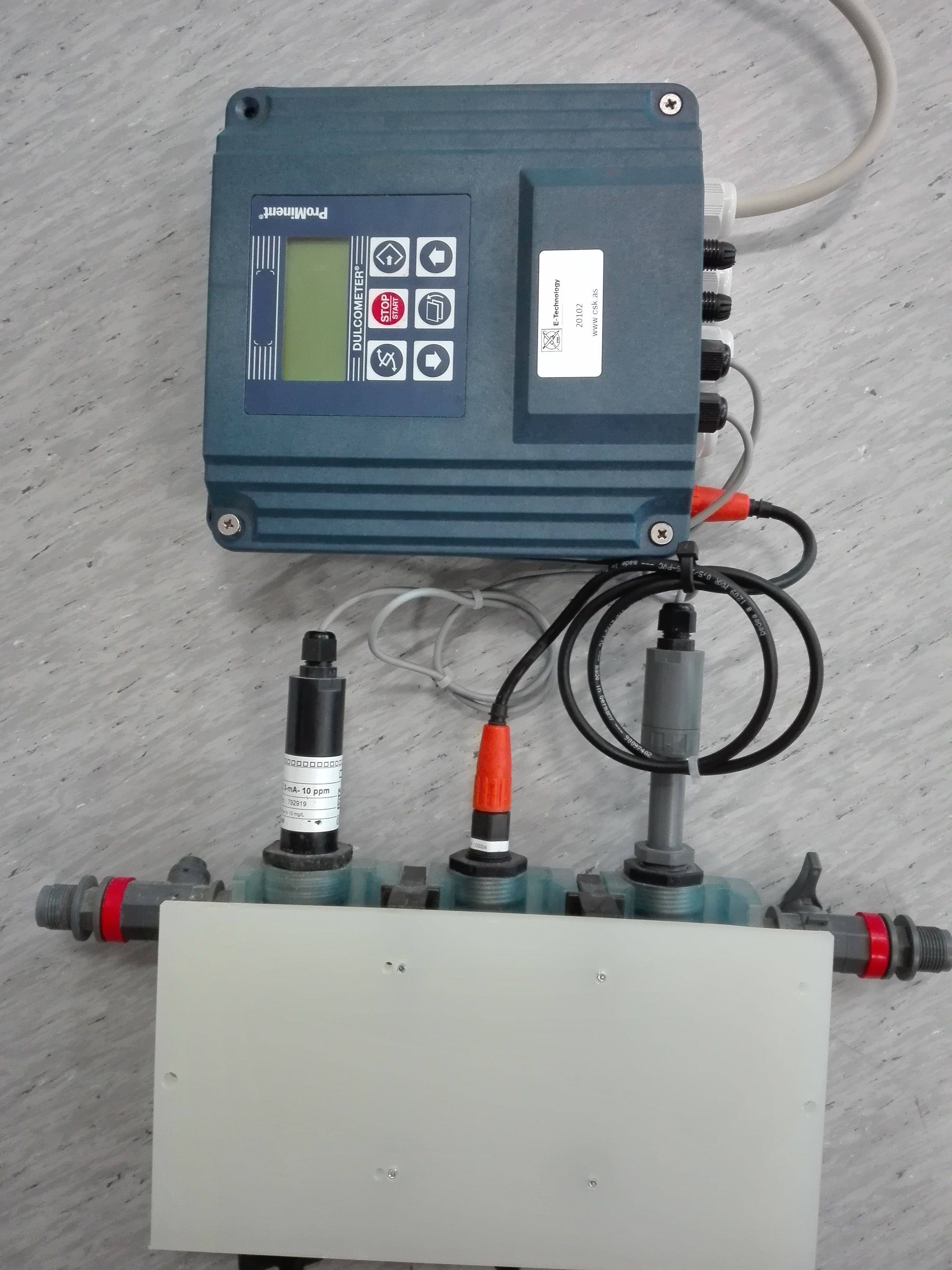 Controller for water treatment