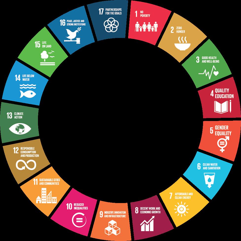 environment goals wheel