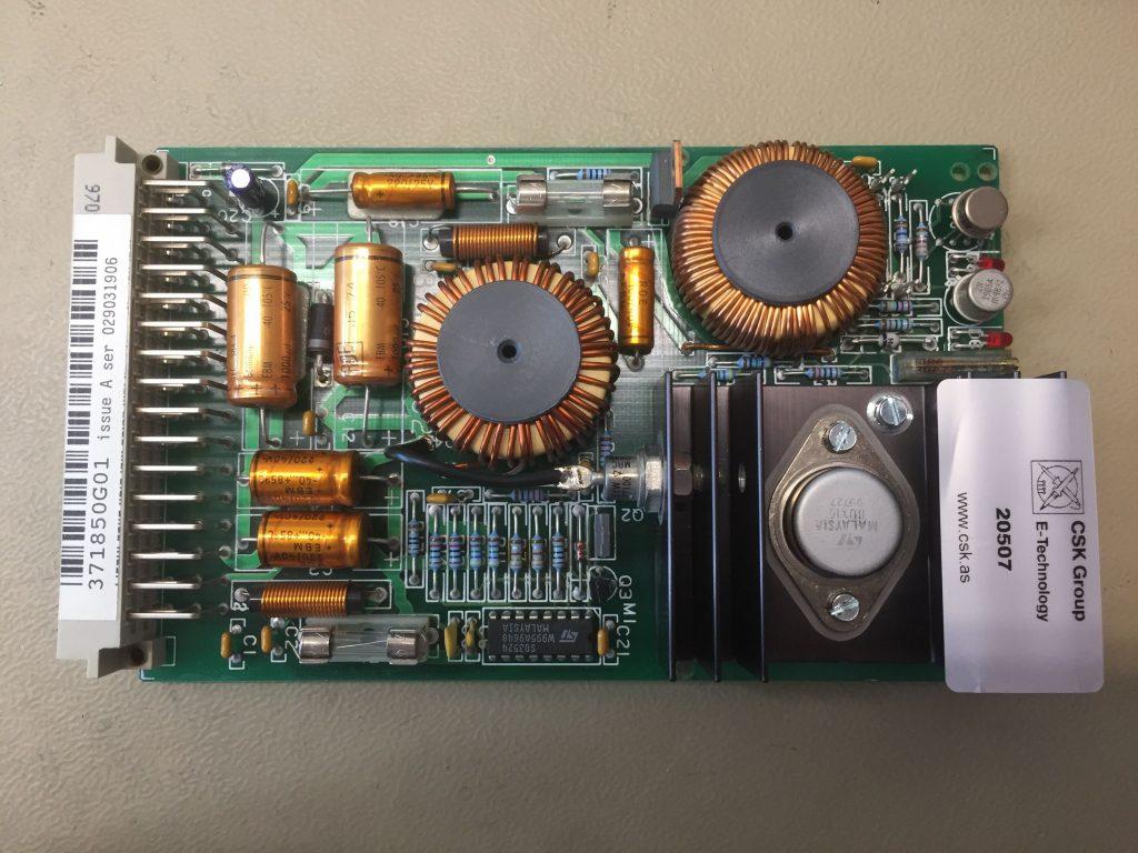 Elevatorstyring PCB