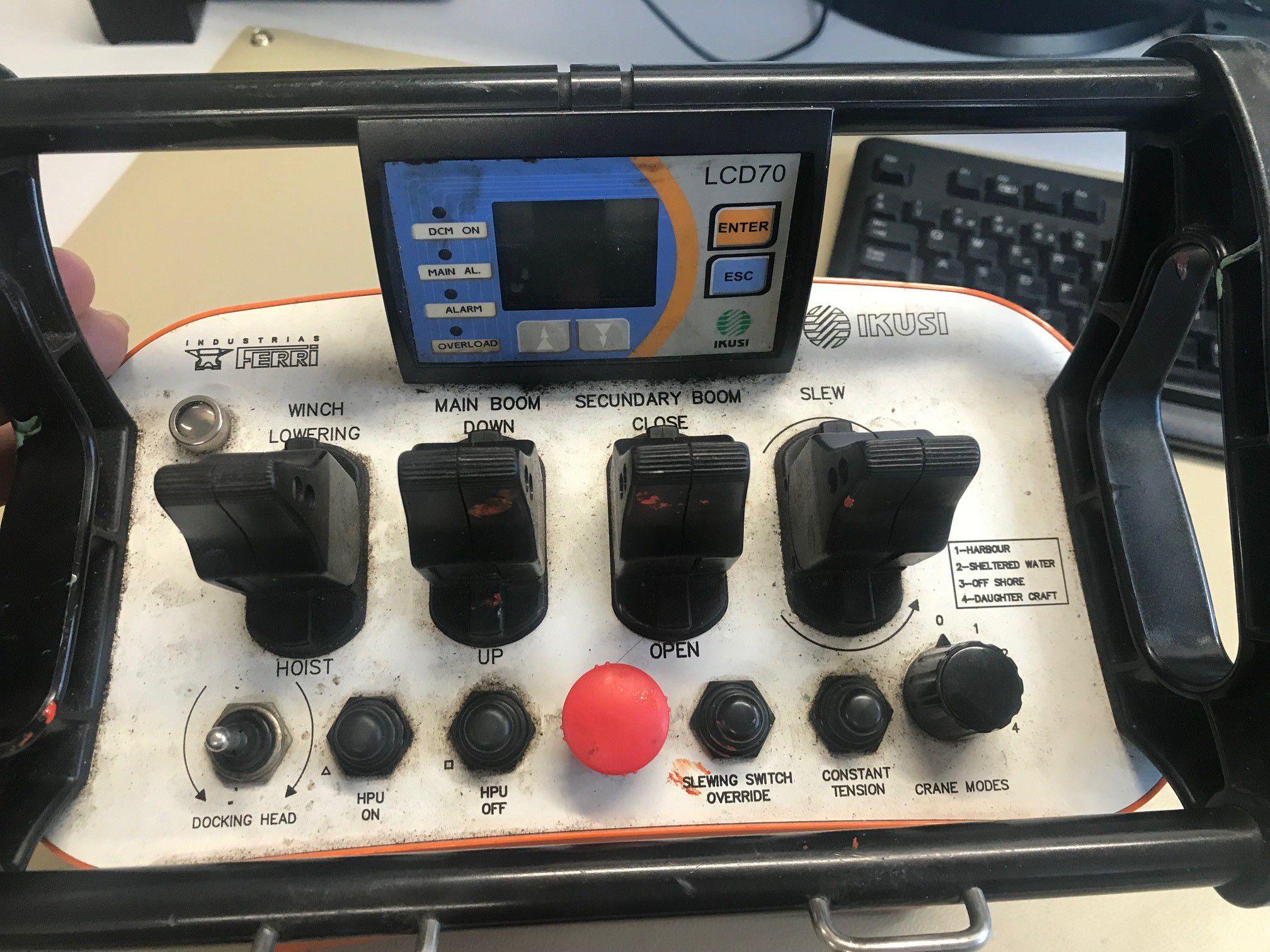 Remote controller for Ferri crane