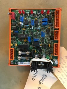 Engine control module 8