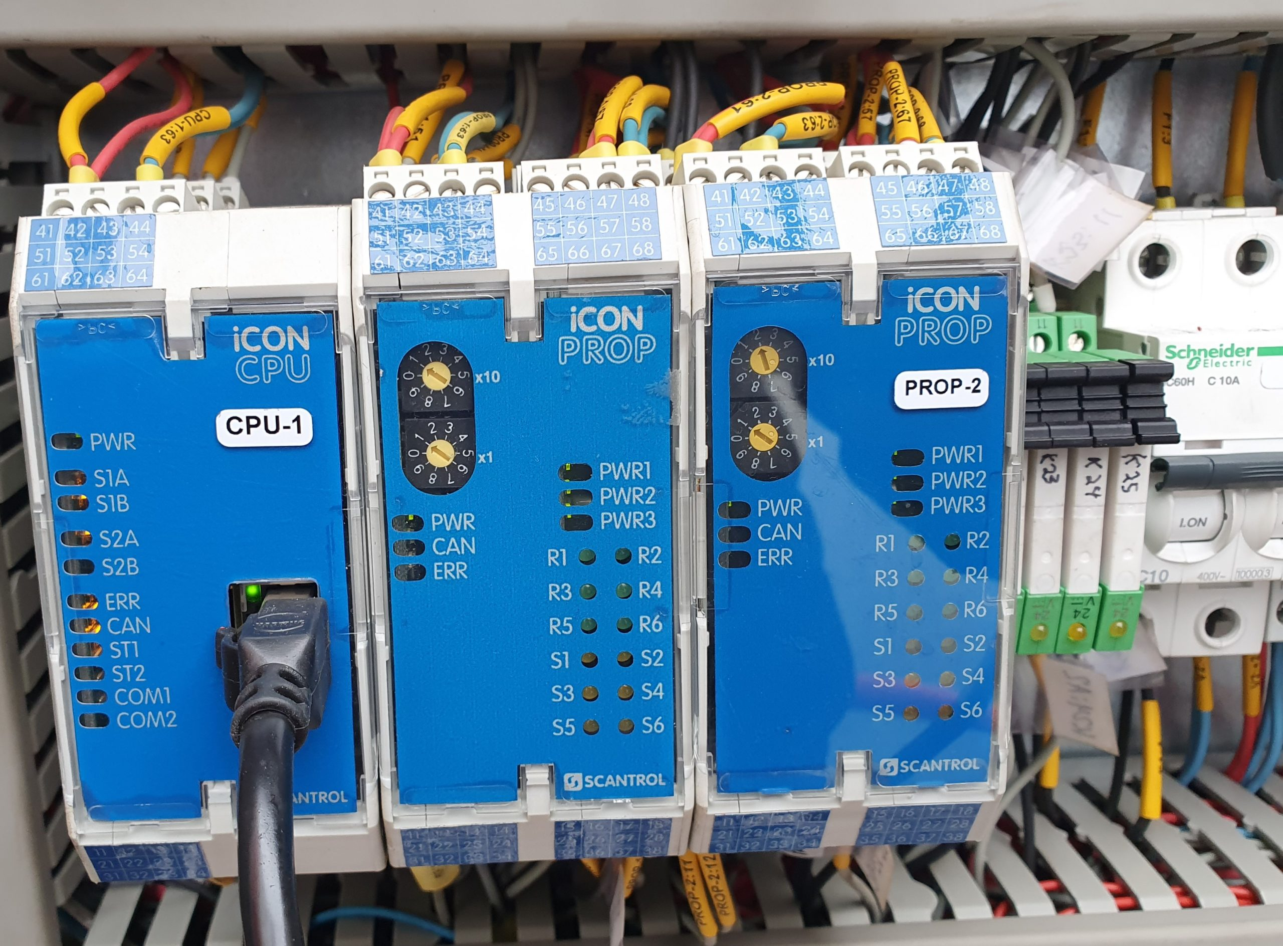 Remote Controller for offshore crane
