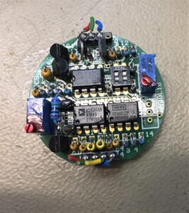 ASSET INSTRUMENTS ENGINEERING Running line monitoring PCB