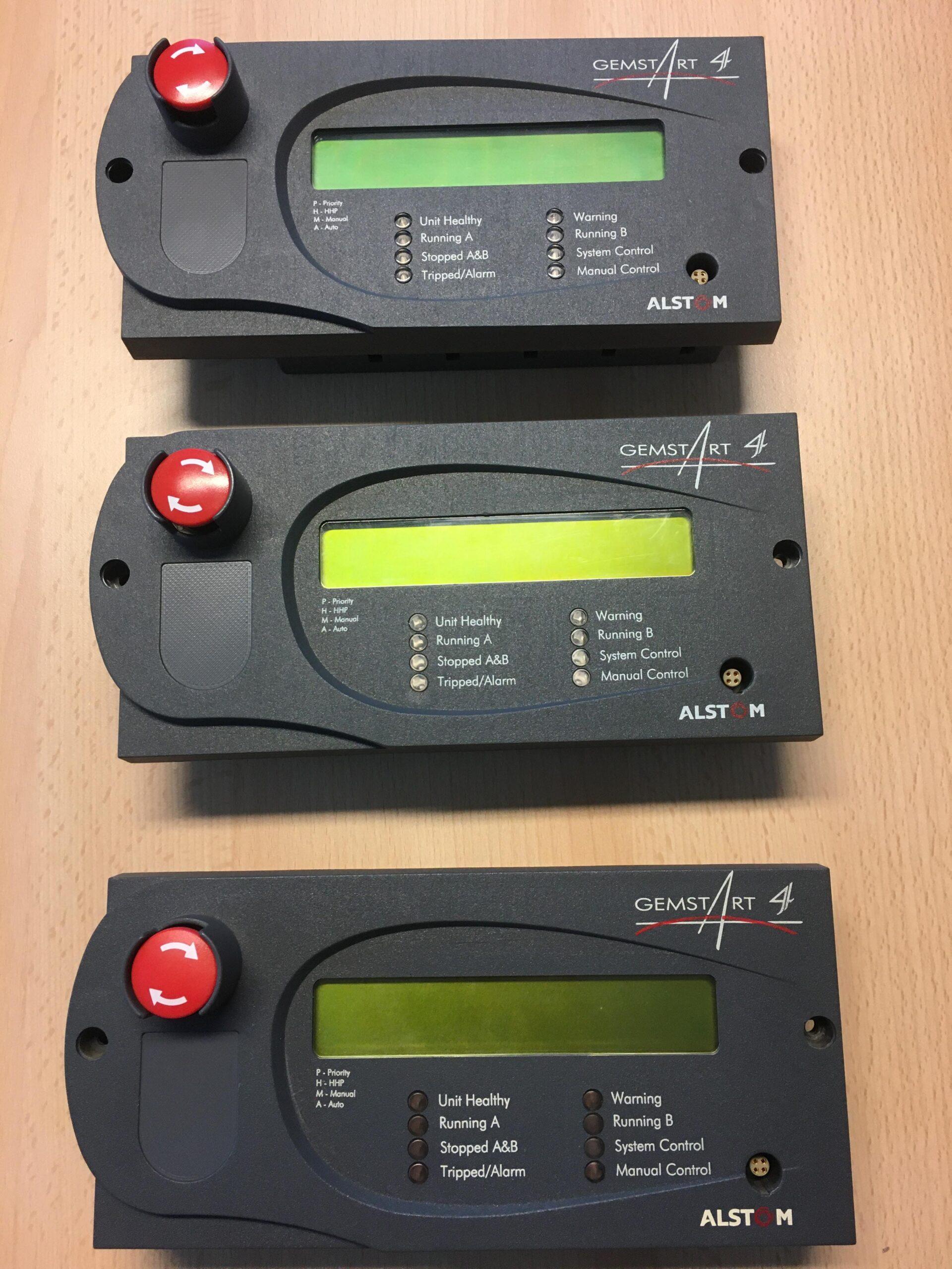 ALSTOM Gemstart 4 controller