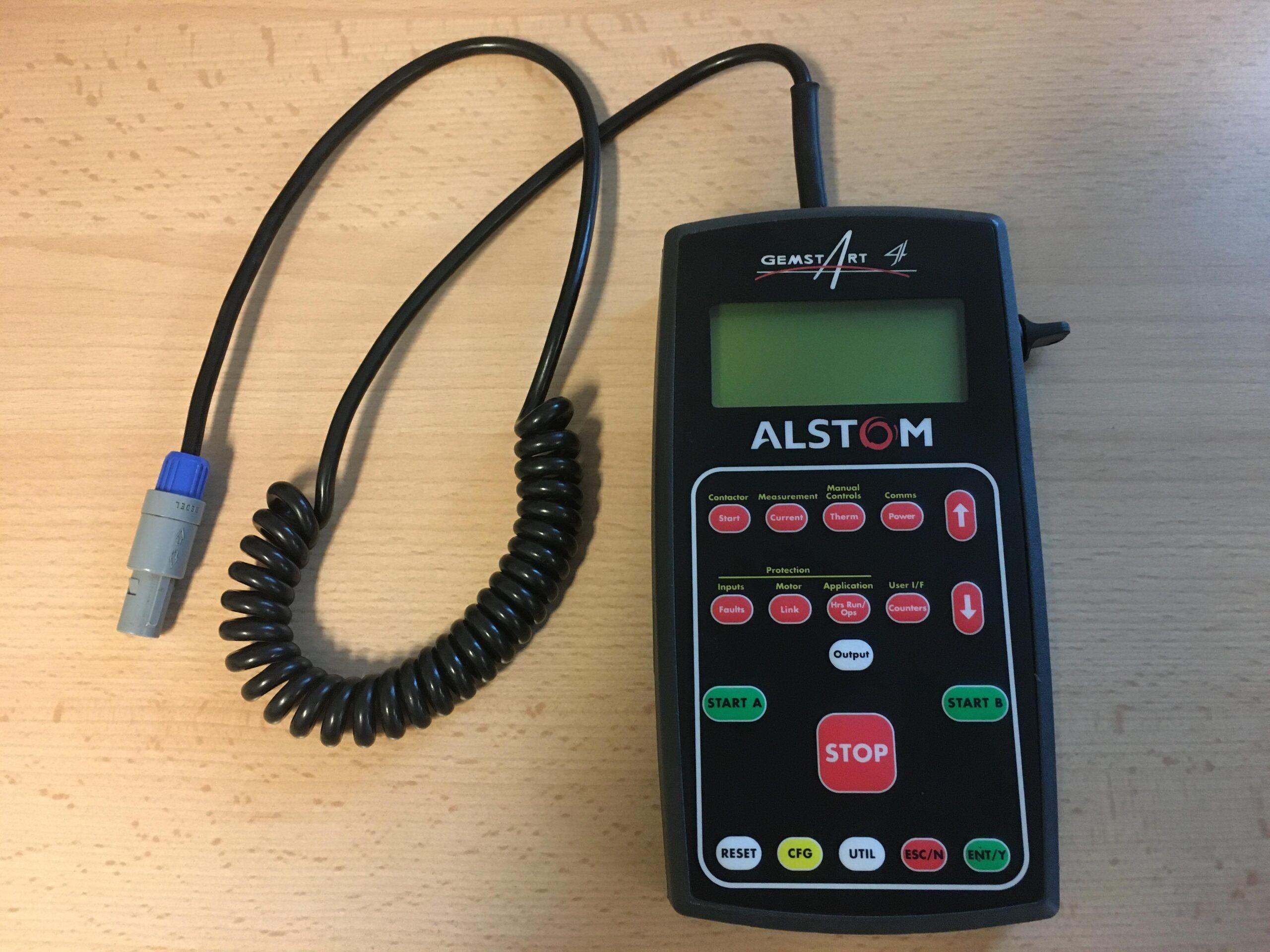 ALSTOM Gemstart 4 handheld device