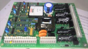 PCB for steering gear