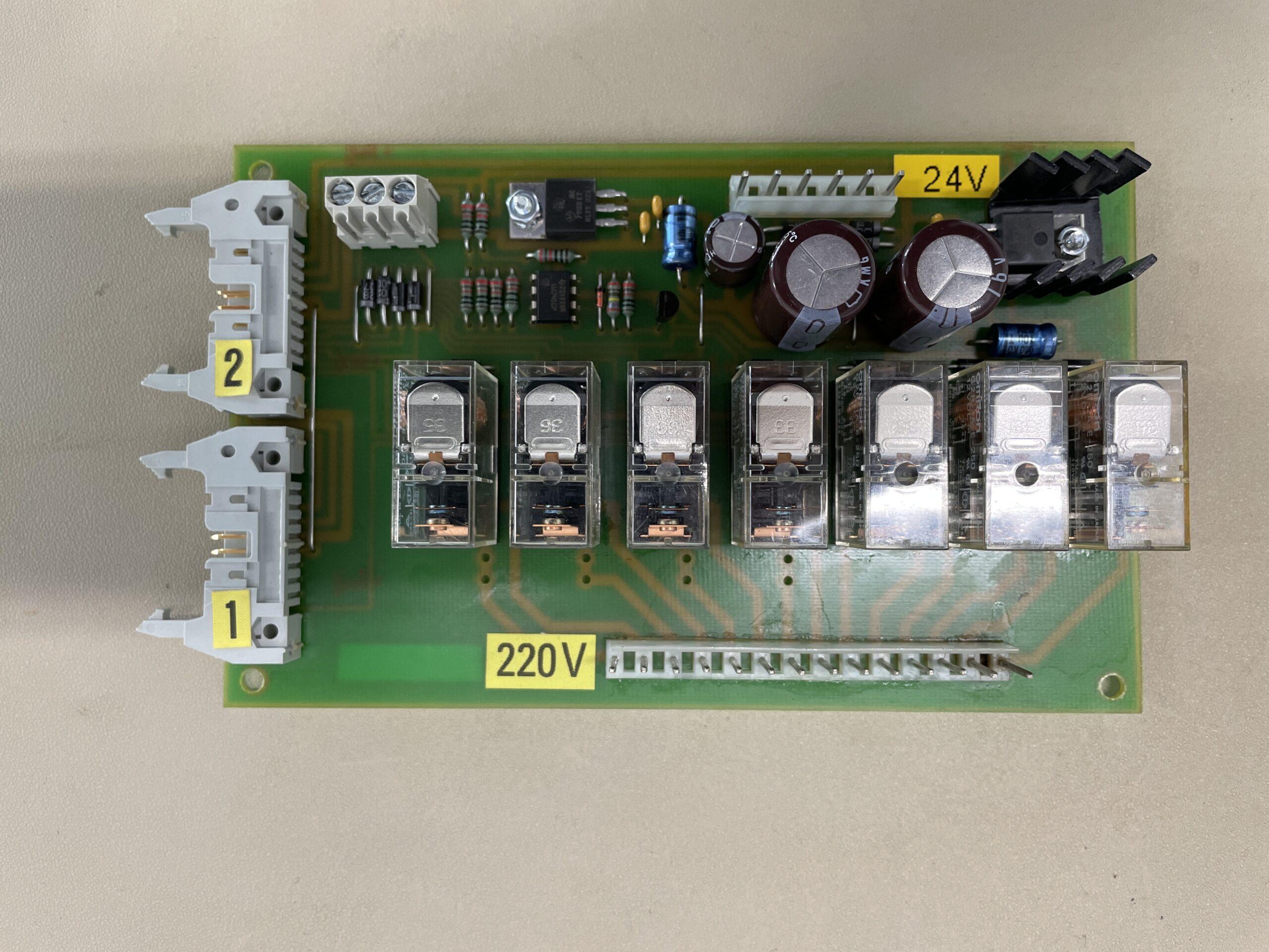 Electric tilting bratt pan PCB