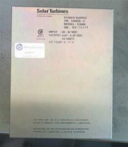 Solar Turbines S3060 Power supply