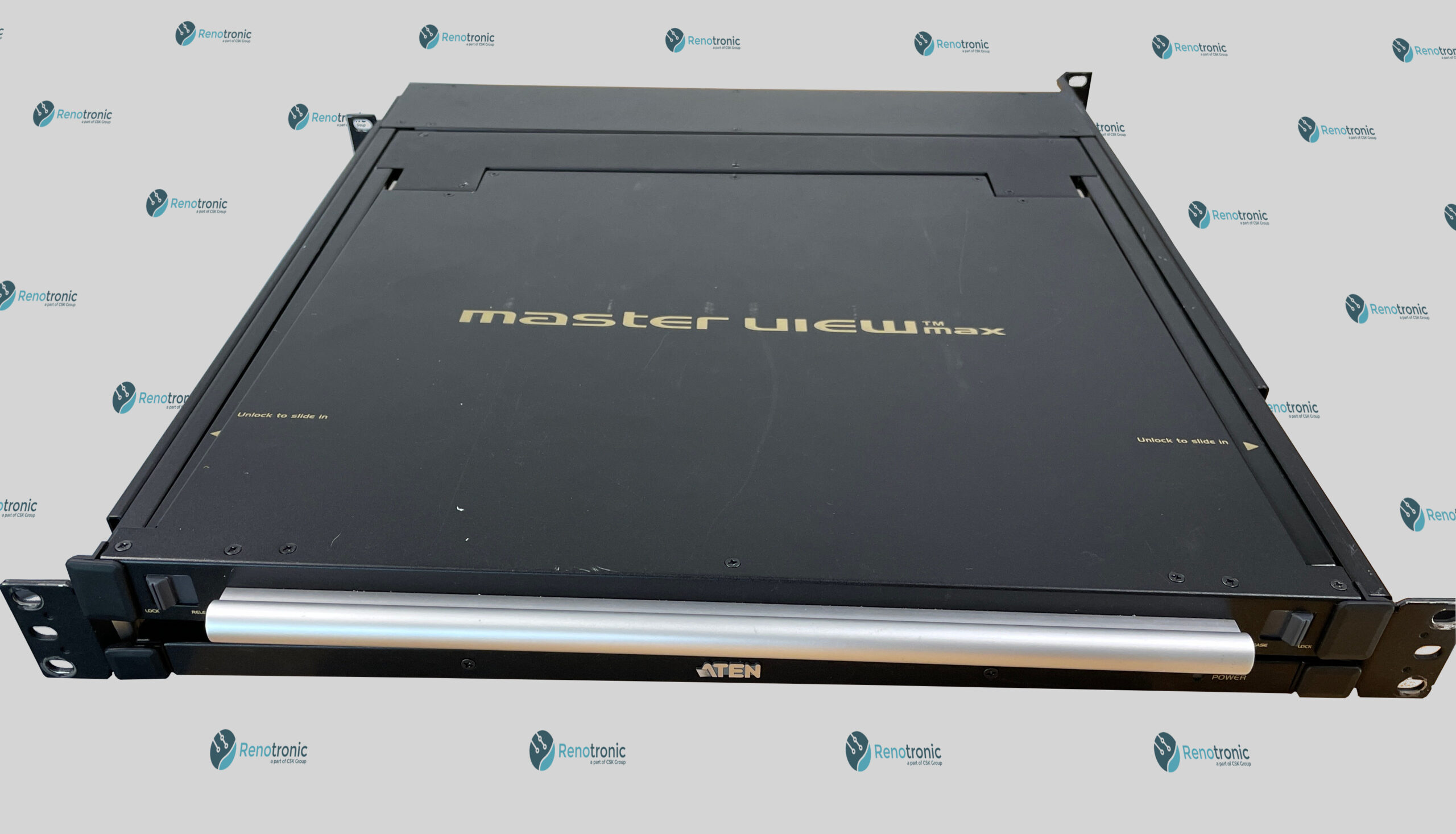 You are currently viewing ATEN single rail LCD console