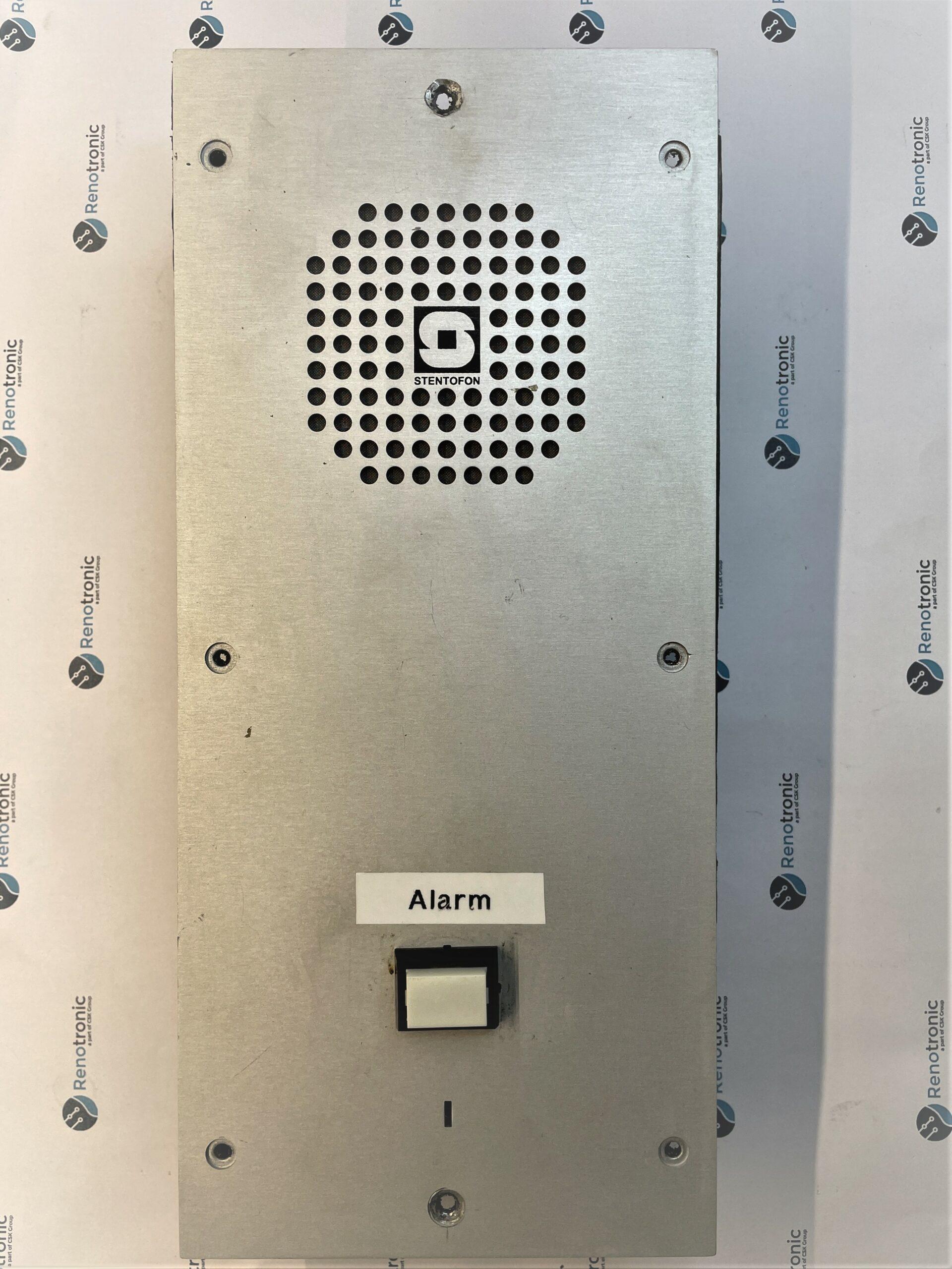 Read more about the article Stentofon / Zenitel alarm panel